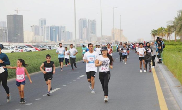 Ajman Organises Duathlon 2020 for Athletes